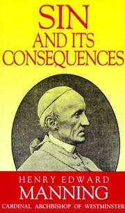 Cover of: Sin and its consequences