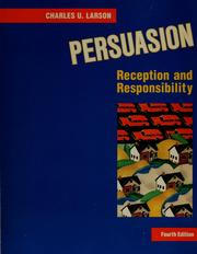 Cover of: Persuasion | Charles U. Larson