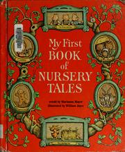 Cover of: My first book of nursery tales