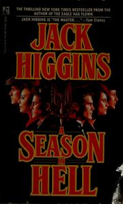 Cover of: A season in hell by Jack Higgins