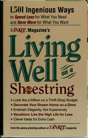 Yankee magazine's living well on a shoestring