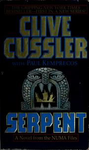 Cover of: Serpent | Clive Cussler