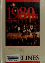 Cover of: 1980s