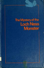 Cover of: The mystery of the Loch Ness Monster