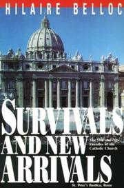 Cover of: Survivals and new arrivals