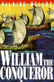 Cover of: William the Conqueror