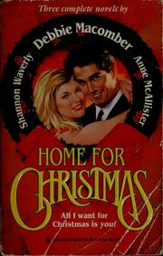 Cover of: Home for Christmas |