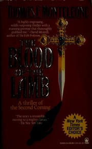 Cover of: The blood of the lamb