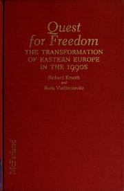 Cover of: Quest for freedom