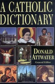 Cover of: Catholic Dictionary