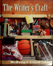 Cover of: The Writer's craft