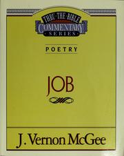 Cover of: Job | J. Vernon McGee
