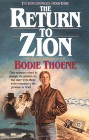 The Return to Zion by Brock Thoene