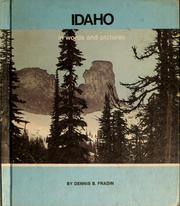 Cover of: Idaho in words and pictures | Dennis B. Fradin