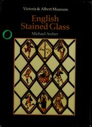 Cover of: An introduction to English stained glass