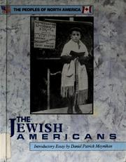Cover of: The Jewish Americans | Howard Muggamin