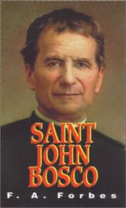 Cover of: St. John Bosco | F. A. Forbes
