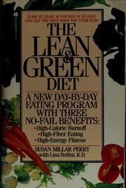 Cover of: The lean & green diet | Susan Millar Perry