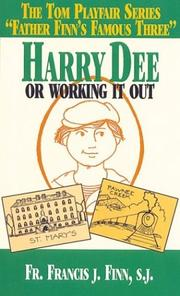 Cover of: Harry Dee: or, Making it out
