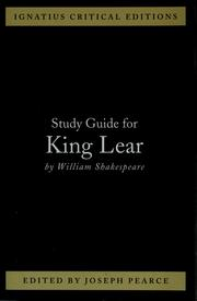 Cover of: Study guide for King Lear