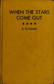 Cover of: When the stars come out