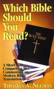 Cover of: Which Bible Should You Read?