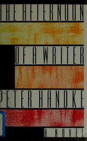 Cover of: The afternoon of a writer