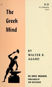Cover of: The Greek mind