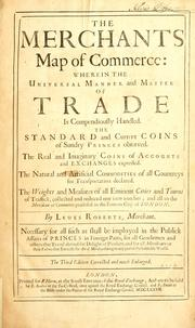 Cover of: The merchants map of commerce