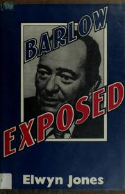 Cover of: Barlow exposed