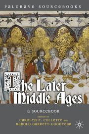Cover of: The Later Middle Ages