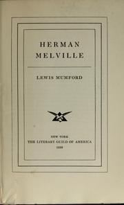 Cover of: Herman Melville