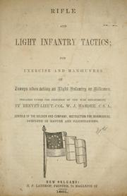Cover of: Rifle and light infantry tactics