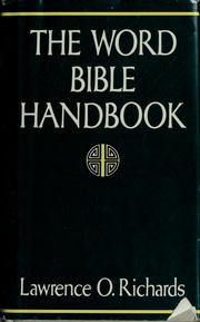 Cover of: The Word Bible handbook
