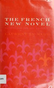 Cover of: The French new novel | Laurent Le Sage