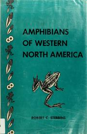 Cover of: Amphibians of western North America