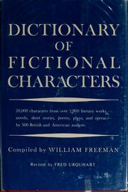 Dictionary of fictional characters by Freeman, William