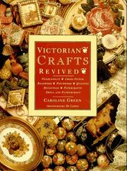 Cover of: Victorian crafts revived | Caroline Green