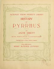 History of Pyrrhus by Jacob Abbott