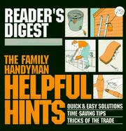 Cover of: The Family Handyman: Helpful Hints  | Reader