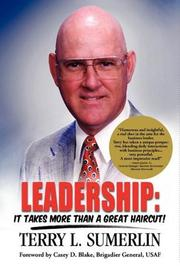 Cover of: Leadership: It Takes More Than a Great Haircut!
