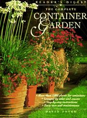 Cover of: The complete container garden
