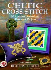 Cover of: Celtic cross stitch