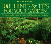 Cover of: 1001 hints & tips for your garden |