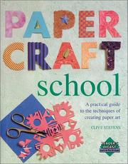 Cover of: Papercraft school