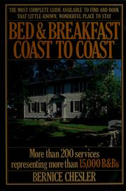Cover of: Bed and Breakfast USA 1987
