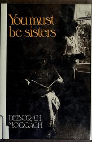 Cover of: You must be sisters