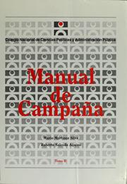 Cover of: Manual de campaña | Mario Martínez Silva