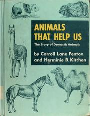 Cover of: Animals that help us