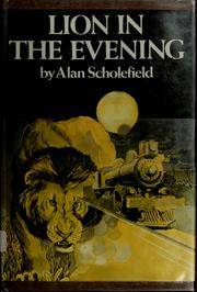 Cover of: Lion in the evening